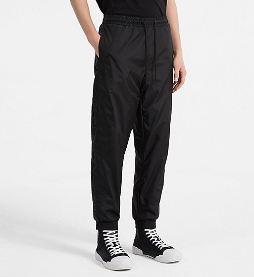 CALVIN KLEIN JEANS Logo Sport Trousers - CK BLACK - CALVIN KLEIN JEANS NEW IN - main image