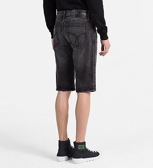 CALVIN KLEIN JEANS Slim Denim Shorts - CURTIS BLACK CMF - CALVIN KLEIN JEANS CLOTHES - detail image 1