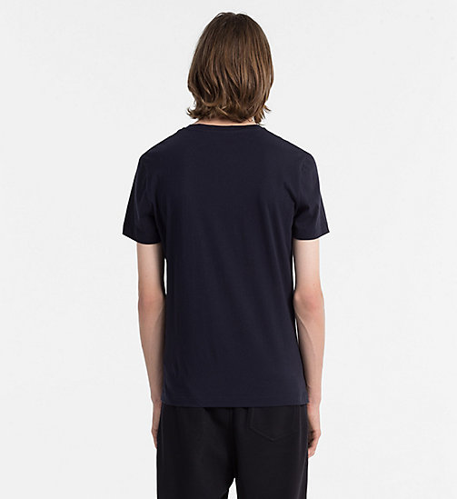 CALVIN KLEIN JEANS Organic Cotton T-shirt - NIGHT SKY - CALVIN KLEIN JEANS NEW IN - detail image 1