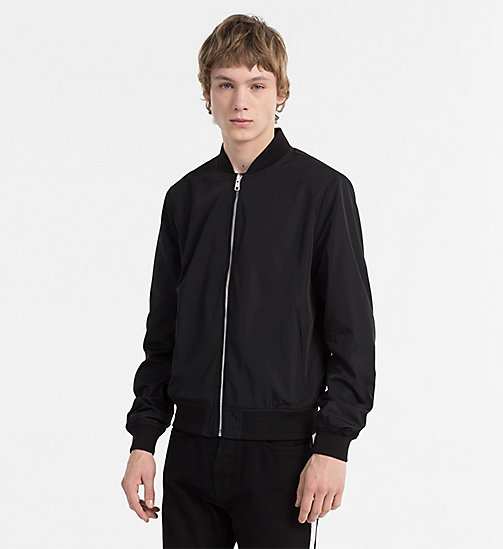 CALVIN KLEIN JEANS Reversible Bomber Jacket - CK BLACK / NIGHT SKY - CALVIN KLEIN JEANS CLOTHES - main image