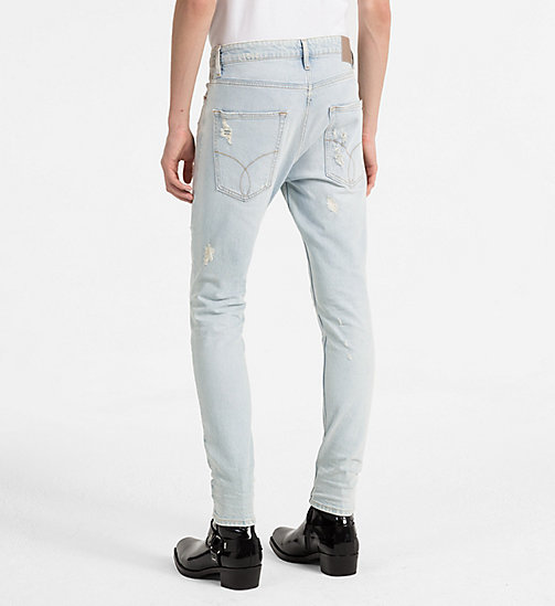 CALVIN KLEIN JEANS Skinny Tapered Jeans - HUGO BLUE DSTR CMF - CALVIN KLEIN JEANS NEW IN - detail image 1