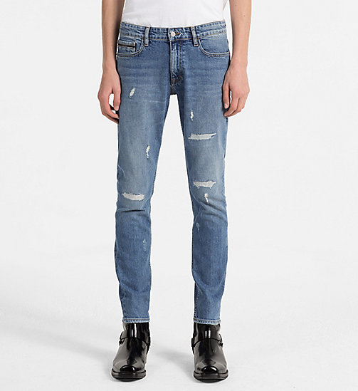 CALVIN KLEIN JEANS Skinny Jeans - MANCHESTER BLUE DSTR CMF - CALVIN KLEIN JEANS CLOTHES - main image