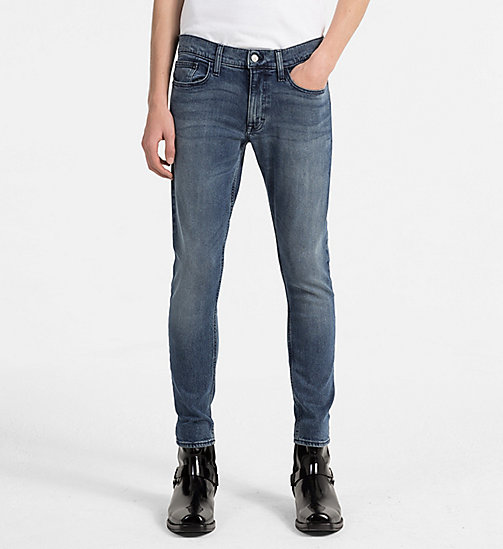 CALVIN KLEIN JEANS Skinny Jeans - KEANU BLUE CMF - CALVIN KLEIN JEANS CLOTHES - main image