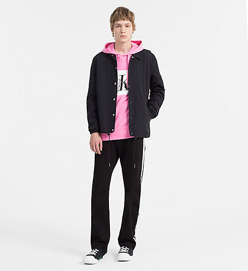 CALVIN KLEIN JEANS Logo Hoodie - WILD ORCHID - CALVIN KLEIN JEANS NEW IN - detail image 1