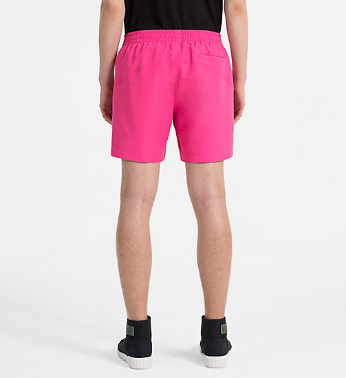 CALVIN KLEIN JEANS Nylon Swimshorts - WILD ORCHID - CALVIN KLEIN JEANS HEAT WAVE - detail image 1