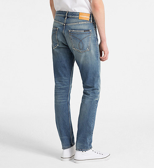 CALVIN KLEIN JEANS CKJ 056 Athletic Tapered Jeans - KATIE BLUE (NON DESTRUCTED LUELLA) - CALVIN KLEIN JEANS CLOTHES - detail image 1