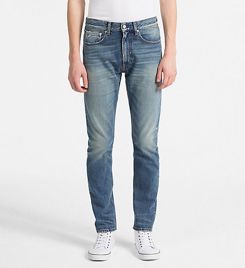 CALVIN KLEIN JEANS CKJ 056 Athletic Tapered Jeans - KATIE BLUE (NON DESTRUCTED LUELLA) - CALVIN KLEIN JEANS NEW DENIM - main image
