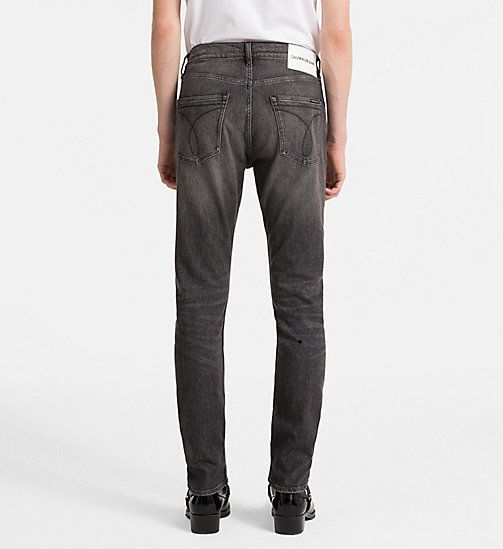 CALVIN KLEIN JEANS CKJ 056 Athletic Tapered Jeans - BARRETT BLACK - CALVIN KLEIN JEANS NEW DENIM - detail image 1