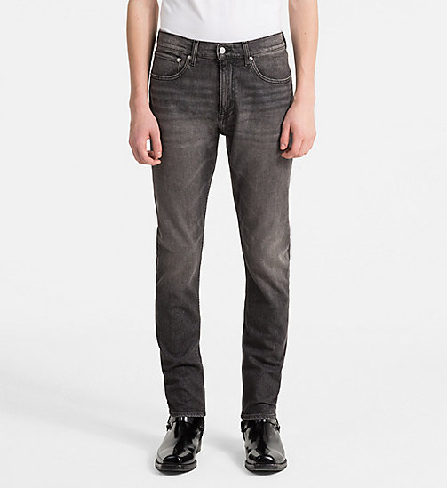 CALVIN KLEIN JEANS CKJ 056 Athletic Tapered Jeans - BARRETT BLACK - CALVIN KLEIN JEANS NEW DENIM - main image