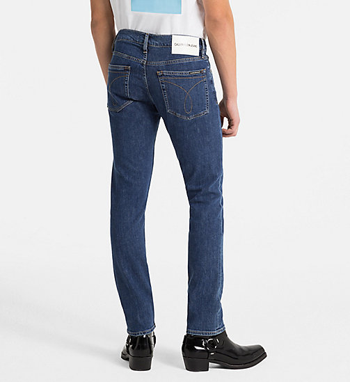 CALVIN KLEIN JEANS CKJ 026 Slim Jeans - RODEO BLUE - CALVIN KLEIN JEANS NEW IN - detail image 1