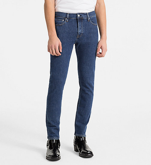 CALVIN KLEIN JEANS CKJ 026 Slim Jeans - RODEO BLUE -  CLOTHES - main image