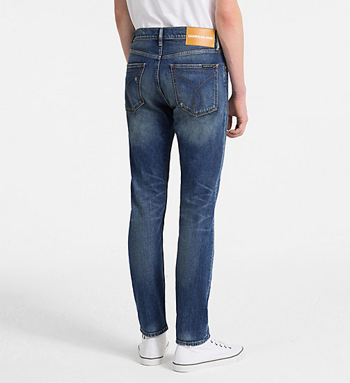 CALVIN KLEIN JEANS CKJ 016 Skinny Jeans - LOOPER BLUE - CALVIN KLEIN JEANS CLOTHES - main image 1