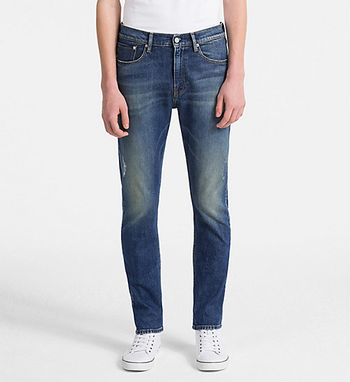 CALVIN KLEIN JEANS CKJ 016 Skinny Jeans - LOOPER BLUE - CALVIN KLEIN JEANS CLOTHES - main image
