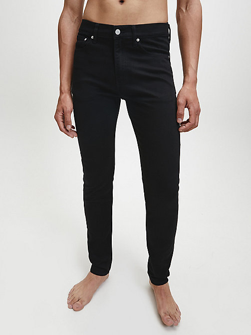 CALVIN KLEIN JEANS CKJ 016 Skinny Jeans - STAY BLACK - CALVIN KLEIN JEANS IN THE THICK OF IT FOR HIM - image principale