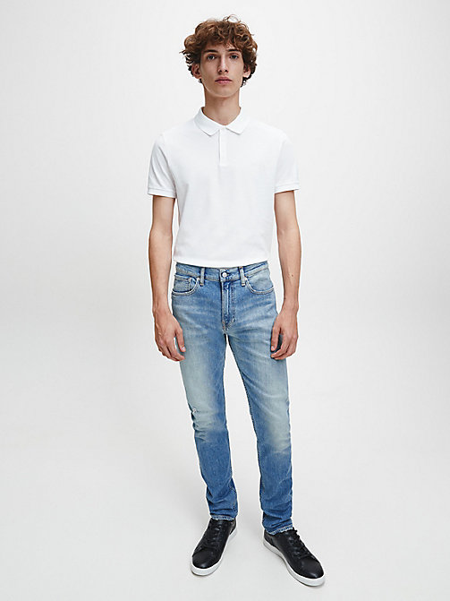 CALVIN KLEIN JEANS CKJ 016 Skinny Jeans - VIENNA BLUE -  CLOTHES - detail image 1