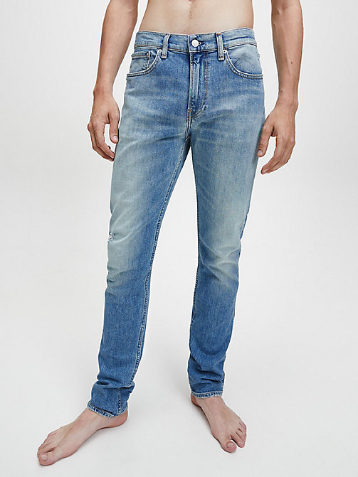 CKJ 016 Skinny Jeans - VIENNA BLUE - CALVIN KLEIN JEANS NEW IN - main image