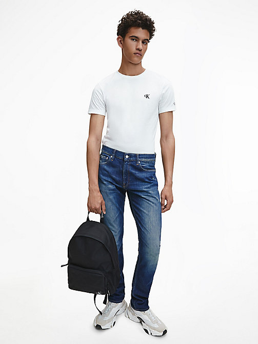 CKJ 026 Slim Jeans - LISBON DARK BLUE - CALVIN KLEIN JEANS NEW IN - detail image 1