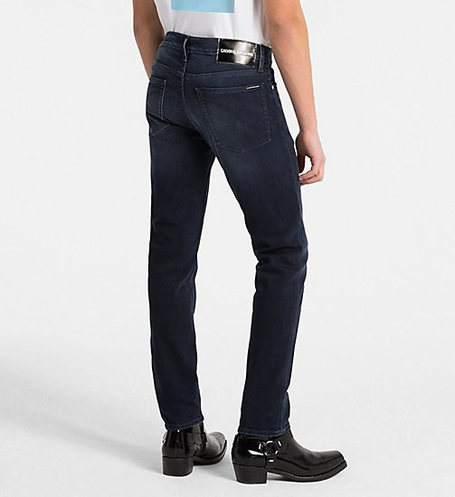 CALVIN KLEIN JEANS CKJ 026 Slim Jeans - PARIS BLUE BLACK -  NEW ICONS - detail image 1