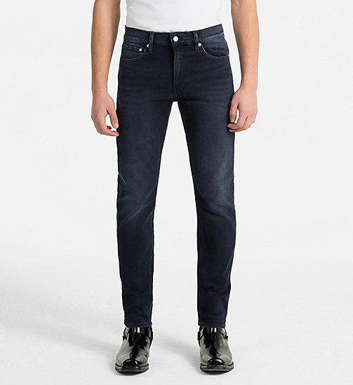 CALVIN KLEIN JEANS CKJ 026 Slim Jeans - PARIS BLUE BLACK - CALVIN KLEIN JEANS NEW DENIM - main image