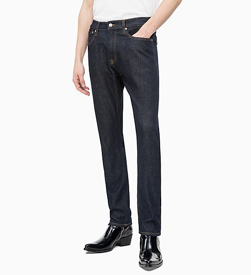 CALVIN KLEIN JEANS CKJ 056 Athletic Tapered Jeans - ANTWERP RINSE - CALVIN KLEIN JEANS CLOTHES - main image