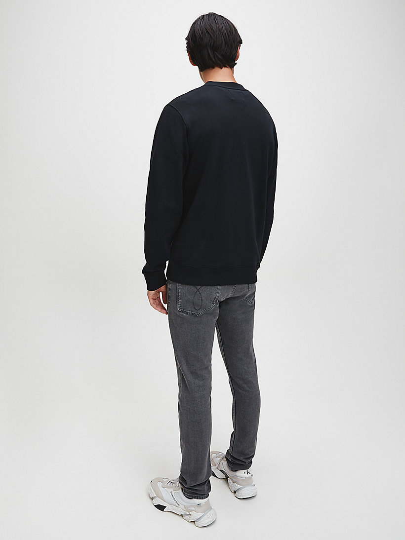 Logo-Sweatshirt - GREY HEATHER - CALVIN KLEIN JEANS HERREN - main image 2