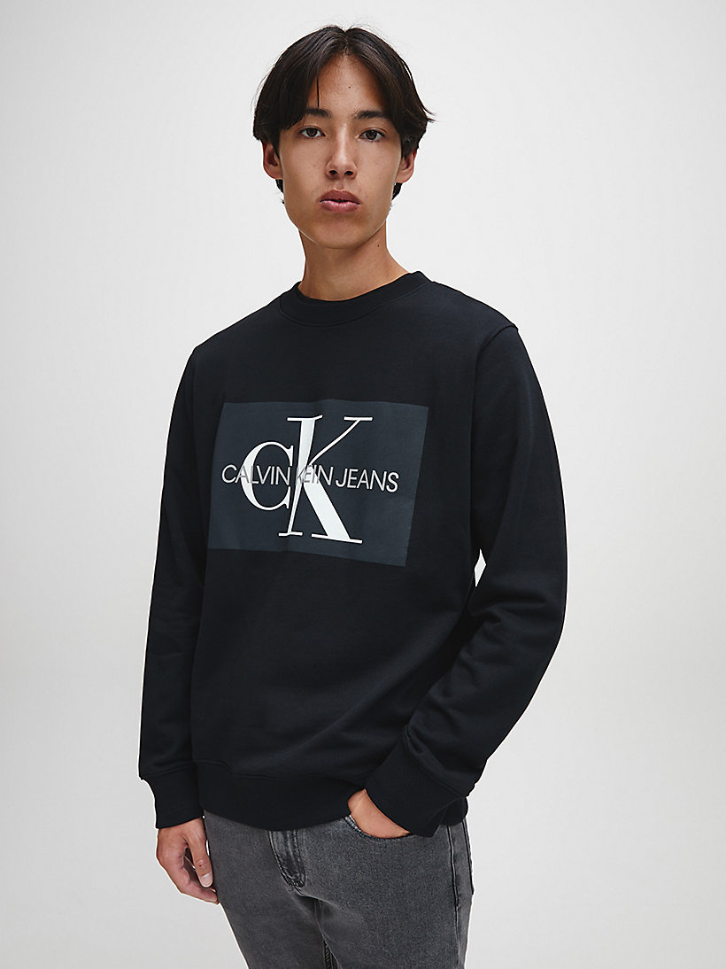 Logo Sweatshirt - GREY HEATHER - CALVIN KLEIN JEANS MEN - main image