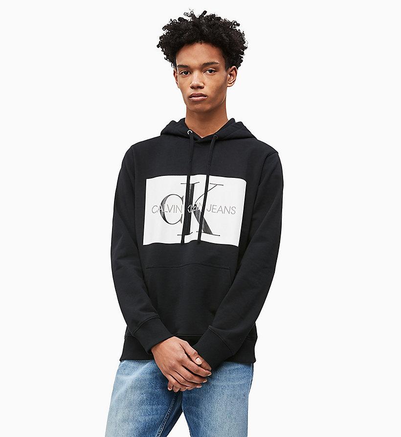 cdb1ea27137598 Felpa con cappuccio con logo da intimo da uomo Calvin Klein® | J30J307745903