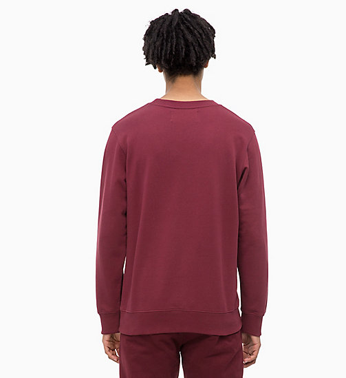 CALVIN KLEIN JEANS Logo Sweatshirt - TAWNY PORT - CALVIN KLEIN JEANS The New Off-Duty - detail image 1