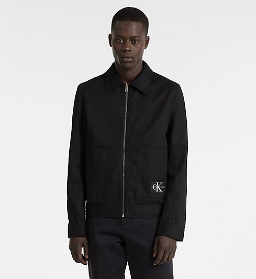 CALVIN KLEIN JEANS Canvas Field Jacket - CK BLACK - CALVIN KLEIN JEANS CLOTHES - main image