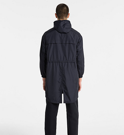CALVIN KLEIN JEANS Hooded Parka Coat - NIGHT SKY - CALVIN KLEIN JEANS CLOTHES - detail image 1