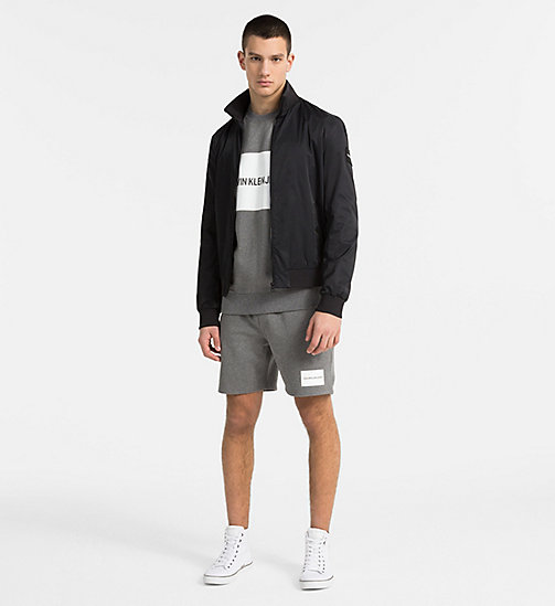 CALVIN KLEIN JEANS Techno Twill Bomber Jacket - CK BLACK - CALVIN KLEIN JEANS PACK YOUR BAG - detail image 1