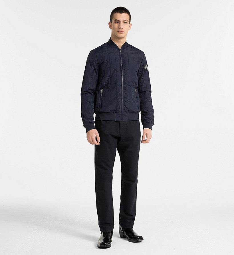 Quilted Nylon Bomber Jacket Calvin Klein J30j307789099