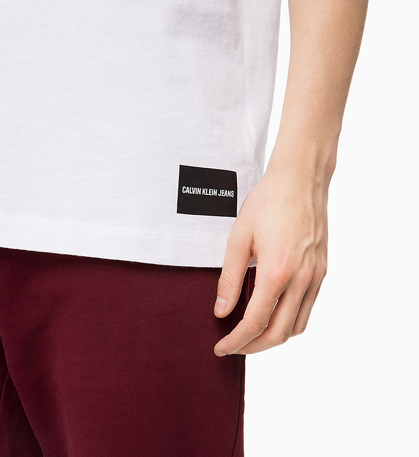 CALVIN KLEIN JEANS Organic Cotton T-shirt - GREY HEATHER MC1620/B38 VOL 39 - CALVIN KLEIN JEANS MEN - detail image 2