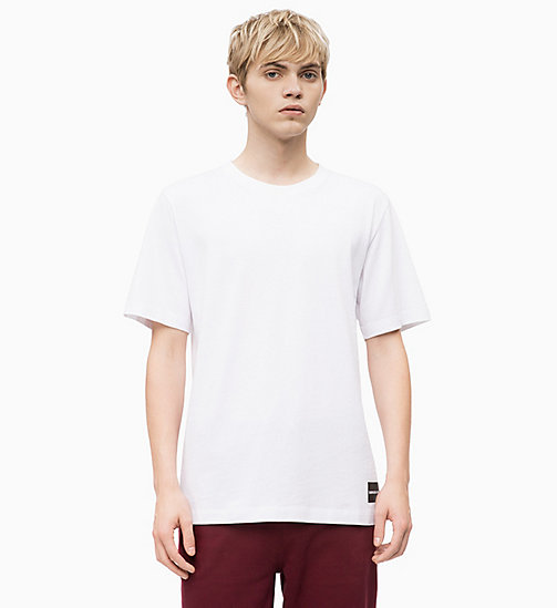 CALVIN KLEIN JEANS Organic Cotton T-shirt - BRIGHT WHITE - CALVIN KLEIN JEANS CLOTHES - main image
