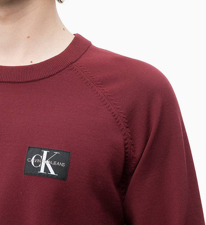 CALVIN KLEIN JEANS Technical Knit Jumper - BLUE DEPTHS - CALVIN KLEIN JEANS MEN - detail image 2