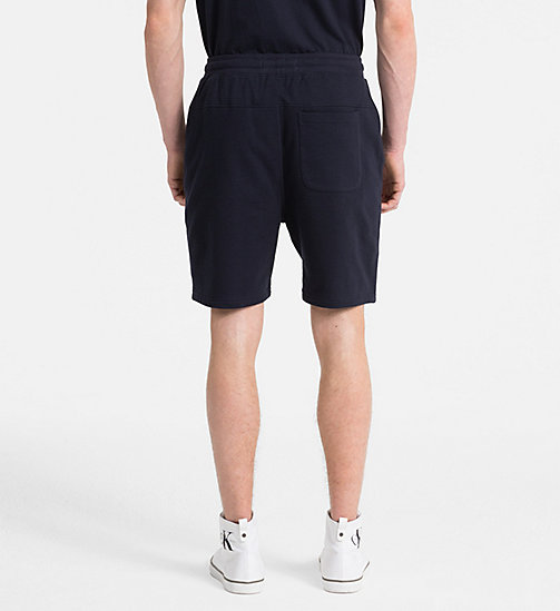 CALVIN KLEIN JEANS Slim Fit Logo-Joggingshorts - NIGHT SKY - CALVIN KLEIN JEANS HEAT WAVE - main image 1