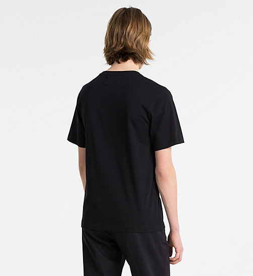CALVIN KLEIN JEANS Printed T-shirt - CK BLACK - CALVIN KLEIN JEANS NEW IN - detail image 1