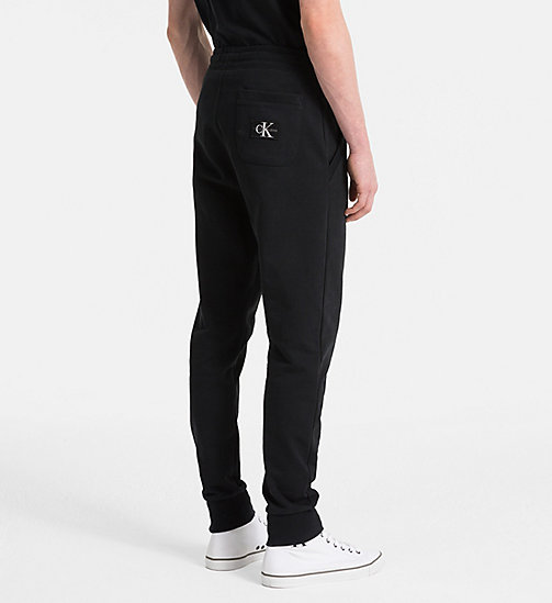 CALVIN KLEIN JEANS Logo Jogging Pants - CK BLACK -  CLOTHES - detail image 1