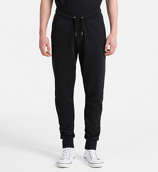 CALVIN KLEIN JEANS Logo Jogging Pants - CK BLACK -  CLOTHES - main image