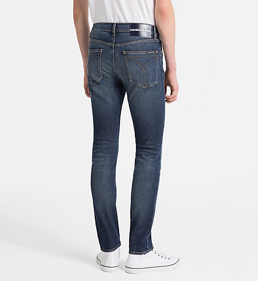 CALVIN KLEIN JEANS CKJ 016 Skinny Jeans - ALAMERE BLUE - CALVIN KLEIN JEANS CLOTHES - main image 1