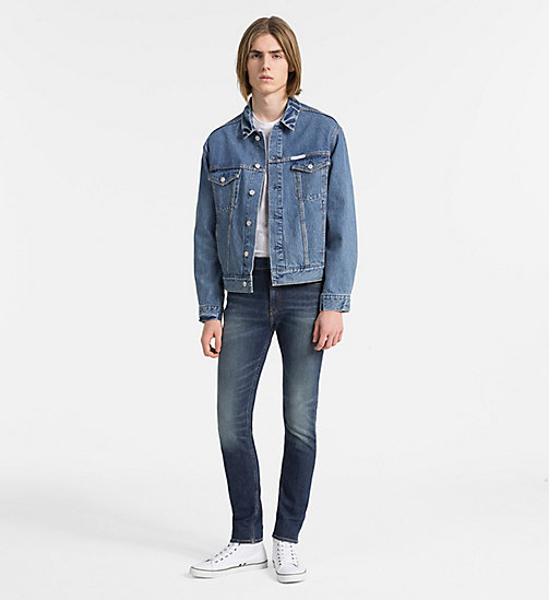 CALVIN KLEIN JEANS CKJ 016 Skinny Jeans - ALAMERE BLUE - CALVIN KLEIN JEANS CLOTHES - detail image 1