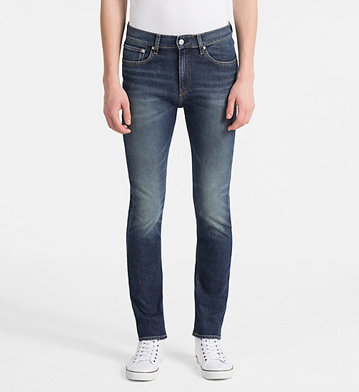 CALVIN KLEIN JEANS CKJ 016 Skinny Jeans - ALAMERE BLUE - CALVIN KLEIN JEANS CLOTHES - main image