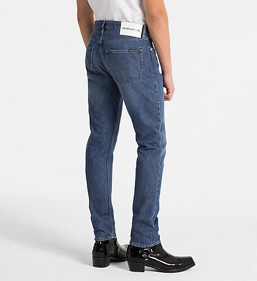CALVIN KLEIN JEANS CKJ 056 Athletic Tapered Jeans - PINOLE - CALVIN KLEIN JEANS NEW DENIM - detail image 1