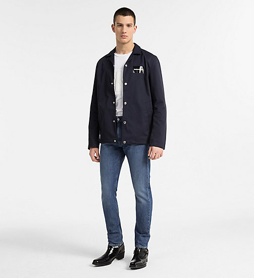 CALVIN KLEIN JEANS CKJ 056 Athletic Tapered Jeans - PINOLE - CALVIN KLEIN JEANS CLOTHES - main image 1