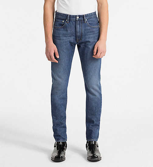 CALVIN KLEIN JEANS CKJ 056 Athletic Tapered Jeans - PINOLE - CALVIN KLEIN JEANS CLOTHES - main image