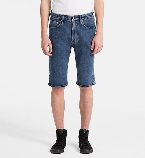 CALVIN KLEIN JEANS Denim Shorts - CHRISTIANE BLUE - CALVIN KLEIN JEANS HEAT WAVE - main image