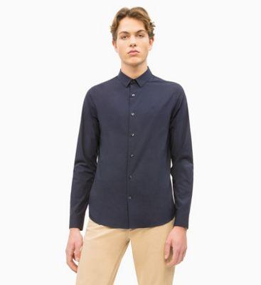908c81e0bde Облегающая рубашка из тянущегося хлопка Calvin Klein®