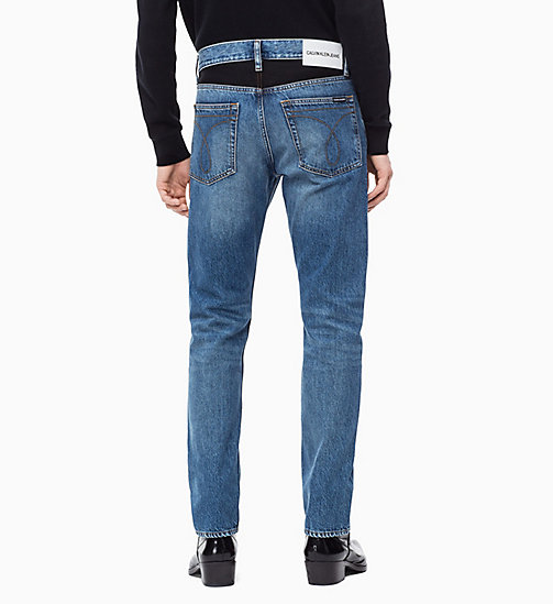 CALVIN KLEIN JEANS CKJ 026 Slim Patched Jeans - KEELING PATCH -  NEW ICONS - detail image 1