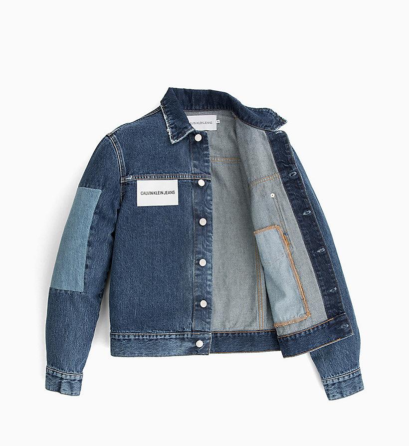 Giubbotto Calvin Patch Di Uomo Jeans Con Da Klein rYrzqv1
