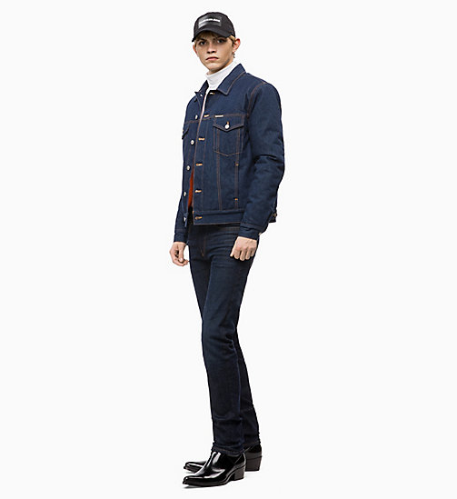 CALVIN KLEIN JEANS Padded Denim Trucker Jacket - ALECO RINSE - CALVIN KLEIN JEANS CLOTHES - detail image 1